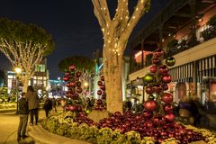Speicher im berühmten im Stadtzentrum gelegenen Disney-Bezirk, Disneyland Resort Lizenzfreie Stockfotografie