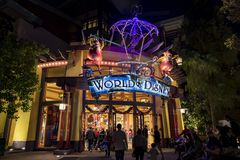 Speicher im berühmten im Stadtzentrum gelegenen Disney-Bezirk, Disneyland Resort Stockbilder