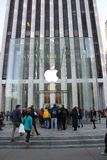 Speicher Manhattan-Apple redisigned Stockfoto