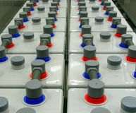 Speicherbatterie stockbilder