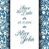 Speichern Sie die Datums-Einladungs-Karte Stockfotos