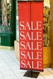 Speichern Sie Förderung-Verkauf Lizenzfreies Stockbild