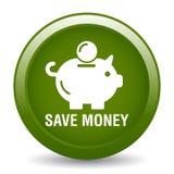 Speichern Sie Geld-Sparschwein-Ikone vektor abbildung