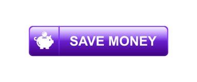 Speichern Sie Geld-Sparschwein-Ikone stock abbildung