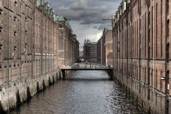 Speicherstadt Stock Photography