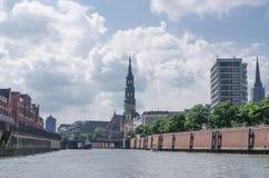 Speicherstadt Lizenzfreie Stockfotos