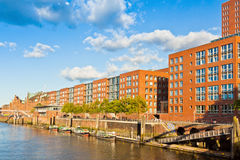 Speicherstadt district (City of Warehouses) in Hamburg, Germany Royalty Free Stock Photography