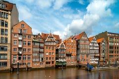 Speicherstadt em Hamburgo, Alemanha Imagens de Stock Royalty Free