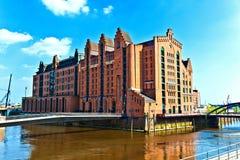 Speicherstadt en Hamburgo fotografía de archivo libre de regalías