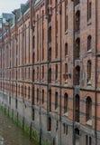 Speicherstadt Hambourg Image libre de droits