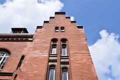 Speicherstadt Hambourg Photo stock