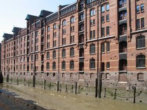 Speicherstadt in Hamburg. The Speicherstadt is an ensemble of warehouses in Hamburg, Germany Royalty Free Stock Photo
