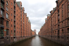 Speicherstadt Hamburg Stock Photography