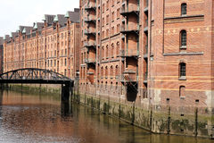 Speicherstadt in Hamburg Royalty Free Stock Photo