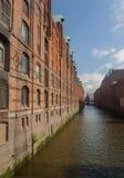 Speicherstadt Hamburg Stockfotografie