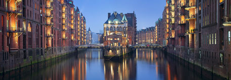 Speicherstadt Hamburg. Royalty Free Stock Photography
