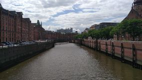 Speicherstadt. Hamburg city Royalty Free Stock Photography