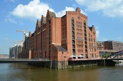 Speicherstadt Hamburg, City of Warehouses in Hamburg Royalty Free Stock Images
