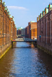 Speicherstadt in Hamburg Royalty Free Stock Images