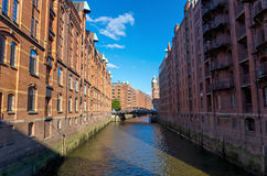 The Speicherstadt in Hamburg Royalty Free Stock Images