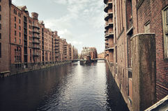 Speicherstadt in Hamburg, Germany Royalty Free Stock Photos