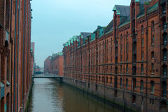 Speicherstadt in Hamburg, Germany Royalty Free Stock Photo