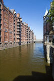 Speicherstadt in Hamburg, Germany Stock Image
