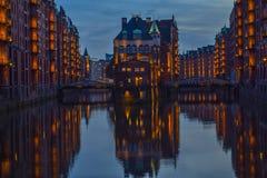 Speicherstadt Hamburg. Germany royalty free stock photos
