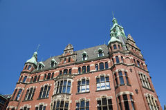 Speicherstadt in Hamburg, Germany Royalty Free Stock Image