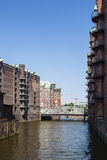 Speicherstadt in Hamburg, Germany Stock Photos