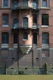 Speicherstadt Hamburg, Stadt von Lagern in Hamburg Lizenzfreie Stockbilder