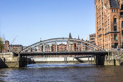 Speicherstadt, hamburg Royalty Free Stock Photography