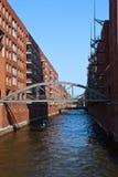 Speicherstadt, Hamburgo Foto de archivo