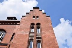 Speicherstadt Hamburgo Foto de archivo