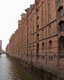 Speicherstadt-ii-Hamburg-Duitsland Stock Afbeelding