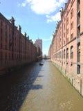 Speicherstadt industriel Photographie stock