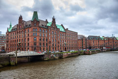 Speicherstadt Stock Photo