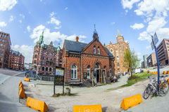 Speicherstadt (Warehouse district) in Hamburg, Germany Stock Photo