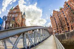 Speicherstadt (Warehouse district) in Hamburg, Germany Royalty Free Stock Photos