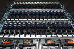 Speichersystem im Rechenzentrum Lizenzfreie Stockfotografie