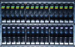 Speichersystem im Rechenzentrum Lizenzfreies Stockbild