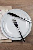 Speisen von Etikette lizenzfreie stockfotografie