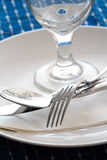 Speisetisch Lizenzfreies Stockfoto