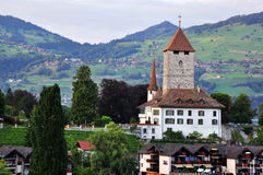 Speiz chateau, Schweiz Stock Photography