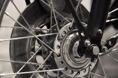 Speked wheel stock image