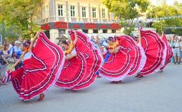 Spektakulär mexicansk dans Fotografering för Bildbyråer