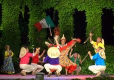 Spektakulär mexicansk machetedansanblick Royaltyfria Foton
