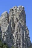 Spektakulär monolit i bergen royaltyfri foto