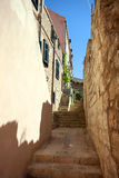 Spektakulär sikt i Dubrovnik Arkivbild