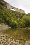 Spektakulärt landskap av Pyreneesna Arkivfoto